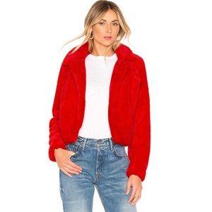 Blank NYC Siren Faux Fur Jacket NWT